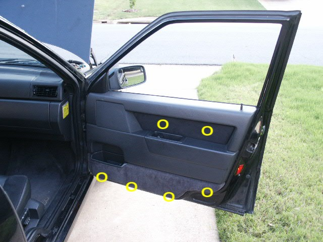 & Door Panel Removal for Volvo 850 - Mirror Replacement Pezcame.Com