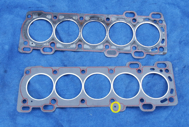 Pict on 2000 Volvo S70 Head Gasket